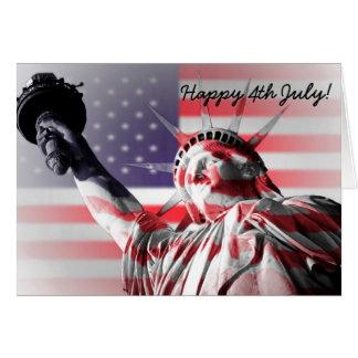 Happy 4th July card
