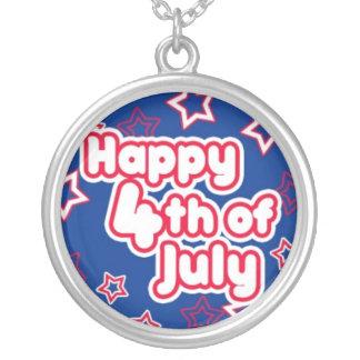 Happy 4th July Necklaces