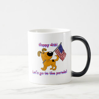 Happy 4th! Let's go to the parade! Morphing Mug