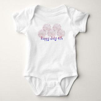 Happy 4th of July Baby Body Suit Baby Bodysuit