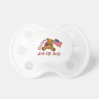 Happy 4th Of July Baby Pacifiers