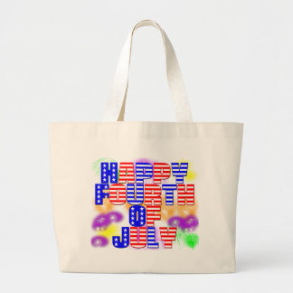 Happy 4th of July Tote Bags