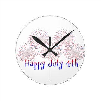 Happy 4th of July Clock