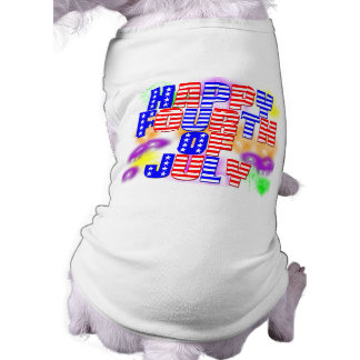 Happy 4th of July Doggie Shirt