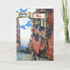 Happy 4th of July. Fine Art Customisable Cards