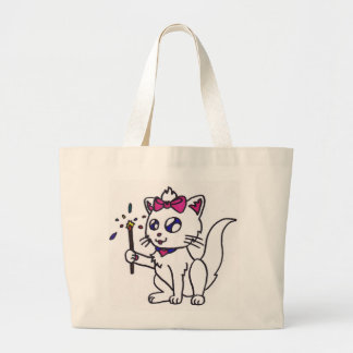 Happy 4th of July firework kitty  independence day Canvas Bag
