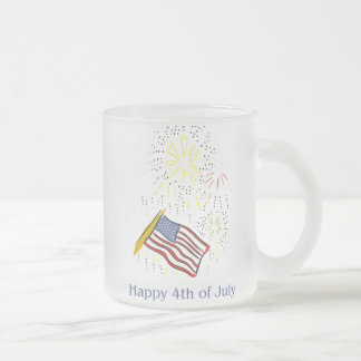 Happy 4th of July Fireworks Holiday Party Mugs