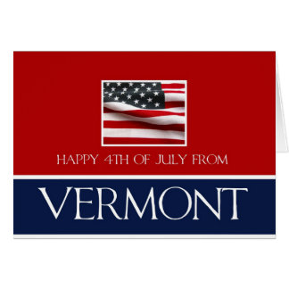 happy 4th of July from Vermont Card