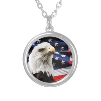 Happy 4th of July Independence Day 2014 Custom Necklace