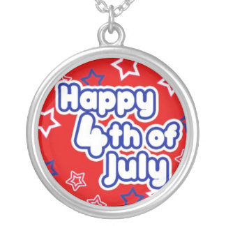 Happy 4th of July Necklace