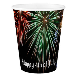 Happy 4th of July! Paper Cup