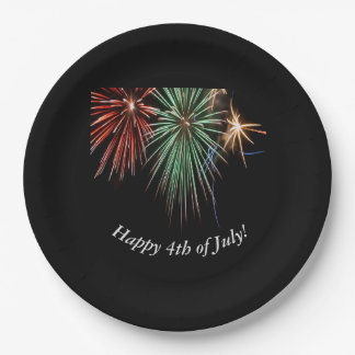 Happy 4th of July! Paper Plate