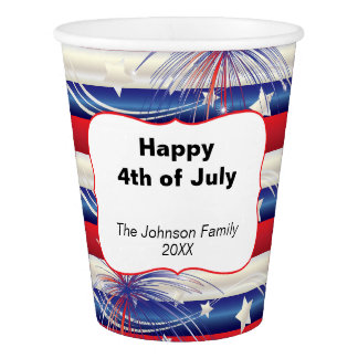 Happy 4th of July | Patriotic Red, White and Blue
