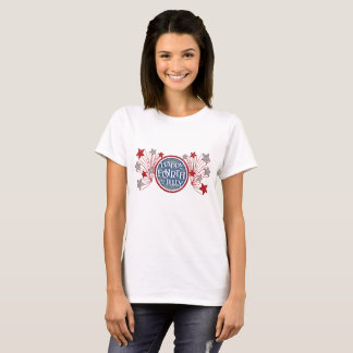 Happy 4th of July patriotic stars and stripes T-Shirt