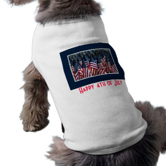 Happy 4th of July Pet Clothing