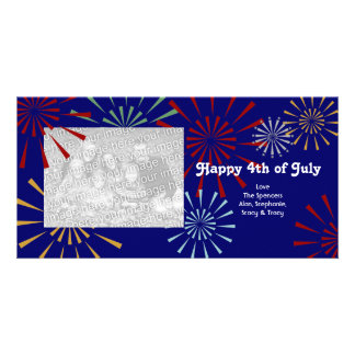 Happy 4th of July Photocards Photo Card Template
