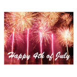 Happy 4th of July Post Card