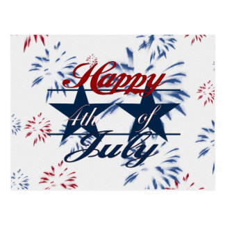 Happy 4th of July Postcards