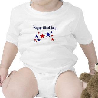 Happy 4th of July Stars Tshirts