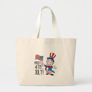 Happy 4th of July Jumbo Tote Bag