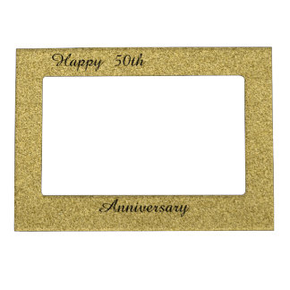 Happy 50th Anniversary Magnetic Frame