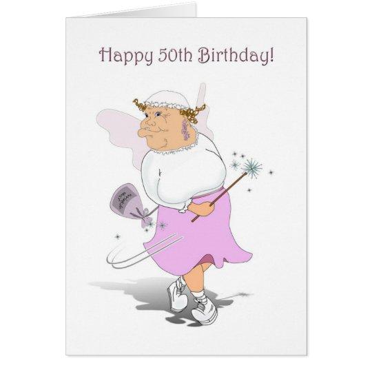 Happy 50th Birthday Card. Card
