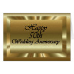 Happy 50th Wedding Anniversary Card