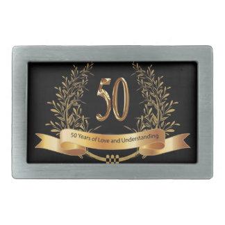 Happy 50th Wedding Anniversary Gifts Belt Buckles
