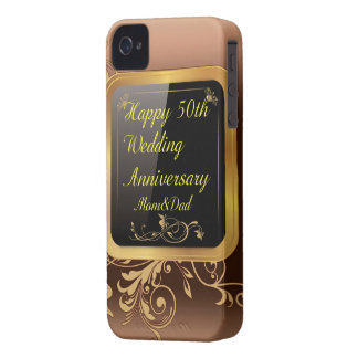 Happy 50th wedding anniversary iPhone five Cover