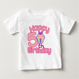 Happy 5th Birthday Baby T Shirt