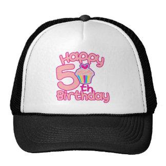 Happy 5th Birthday! Trucker Hats