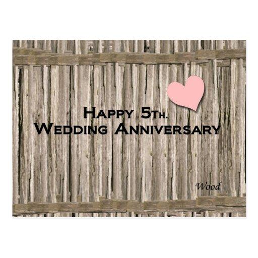 happy 5th wedding anniversary zazzle