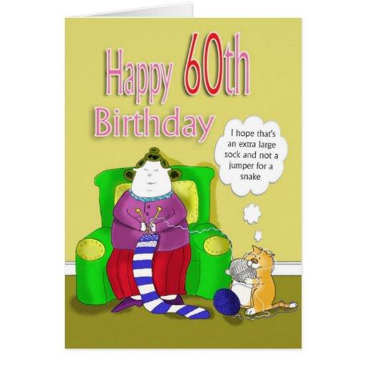 Happy 60th birthday greeting cards