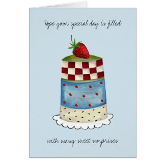 Happy 60th or Any Age Birthday Greeting Card