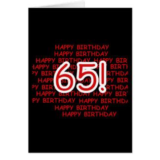 Happy 65th Birthday Cards