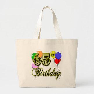 Happy 65th Birthday Tote Bag