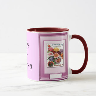 Happy 6th Anniversary, Flowers for bouquets Mug