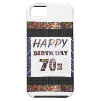 Happy 70th Birthday Tough iPhone 5 Case