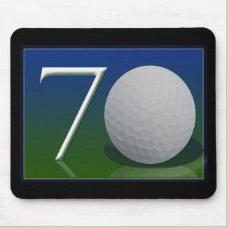 Happy 70th Birthday for golf nut Mouse Mat