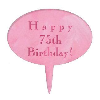 Happy 75th Birthday! Cake Topper