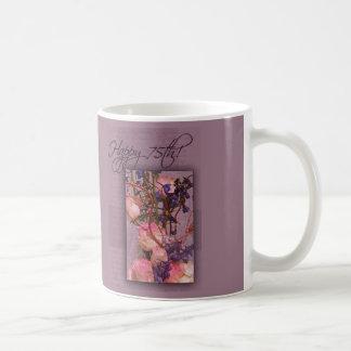 Happy 75th Birthday - Customized Coffee Mug