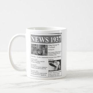 Happy 80th birthday 1937 News Mug