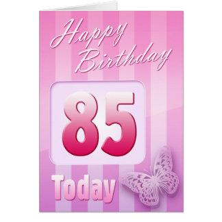 Happy 85th Birthday Grand Mother Great-Aunt Mum Greeting Card
