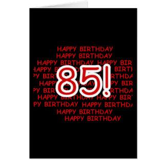 Happy 85th Birthday Greeting Cards