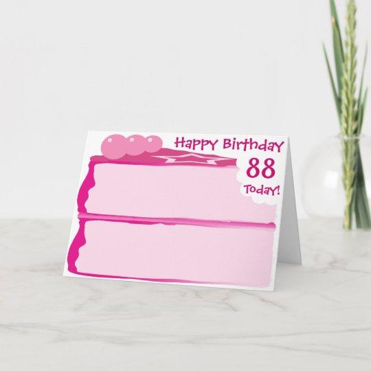 Happy 88th Birthday Card