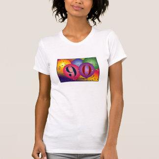 Happy 90th Birthday balloons T-Shirt