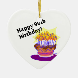 Happy 90th Birthday! Christmas Ornament