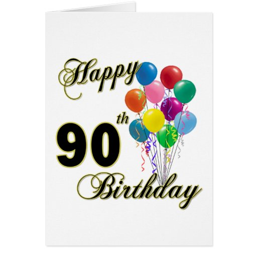 Happy 90th Birthday Gifts and Birthday Apparel