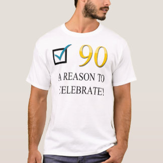 Happy 90th Birthday T-Shirt