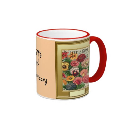 Happy 9th Anniversary Coffee Mugs